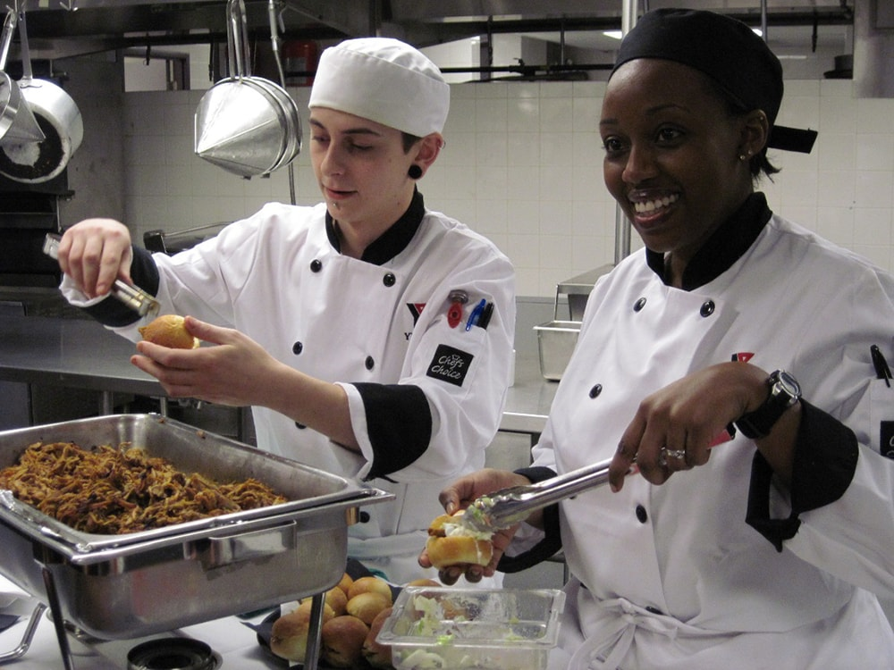 A culinary education in the USA is recognised worldwide